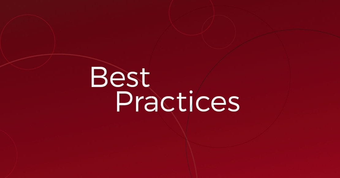 Best Practices header
