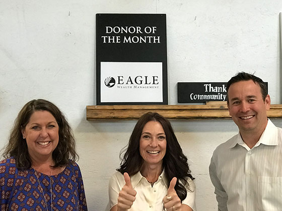 Donor of the month - Chad Staskal and team